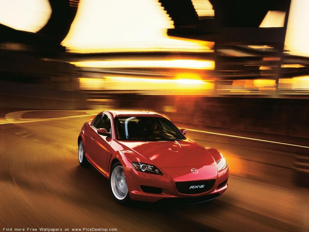 Mazda RX8 фото.